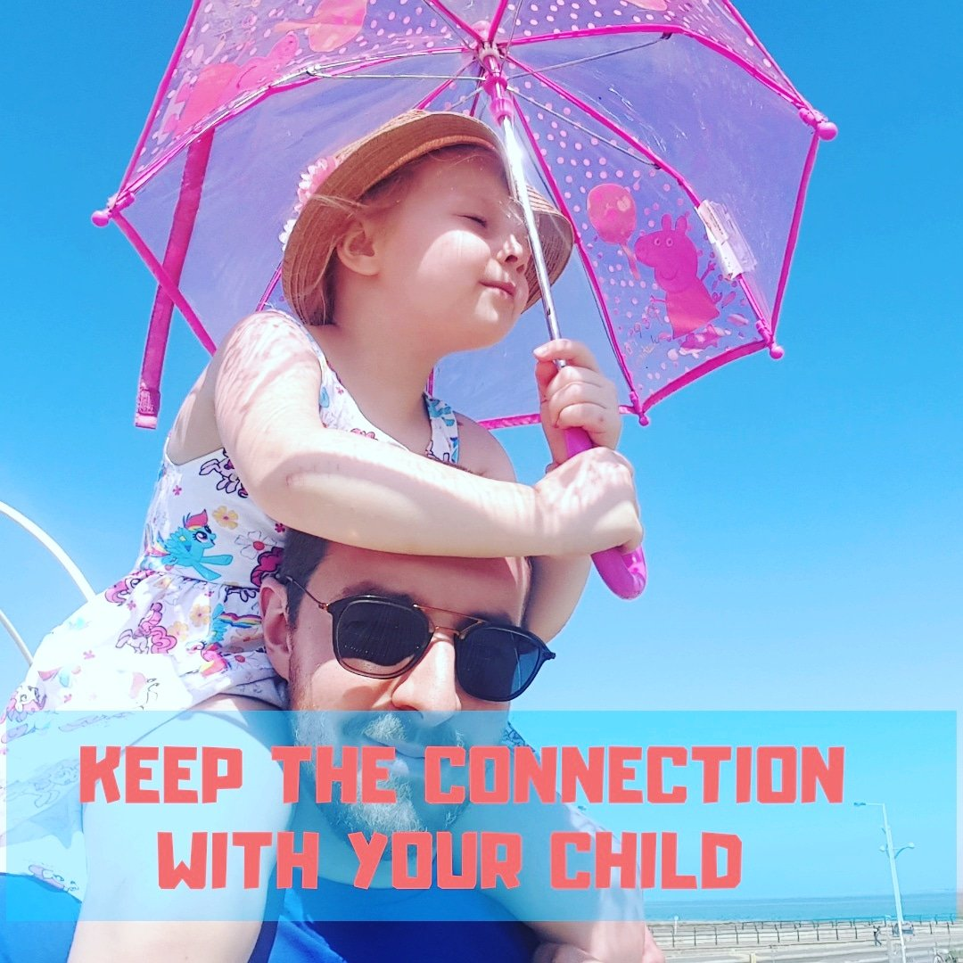How to keep the connection with your child – before the world and it's despicable fuckers get their cunthooks onthem.